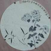 阚玉敏扇画3