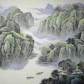 杜中良山水:春雨过后千山秀