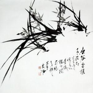 南洋大画师林家雄大写意花鸟-L