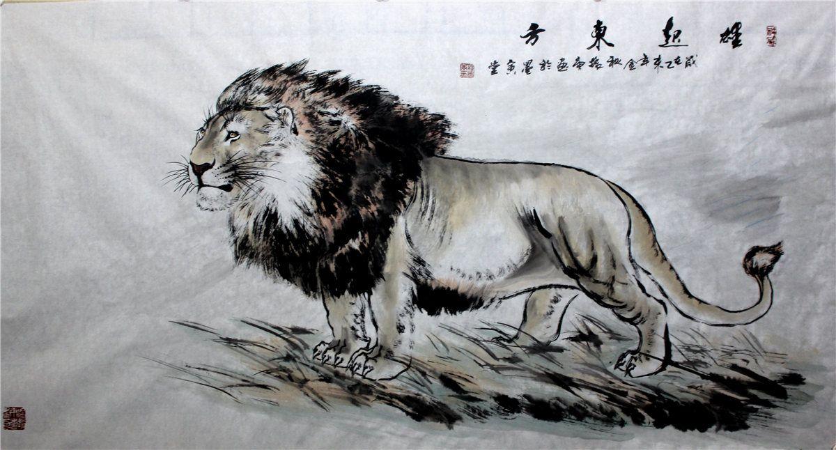 穆振庚作品:雄起东方
